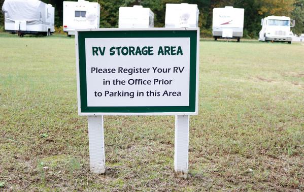 RV Storage Area