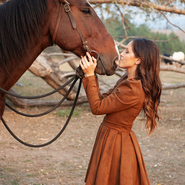 Фотосесия с коне