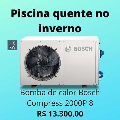 Bomba de Calor Bosch Compress 2000P 8 para aquecimento de piscina