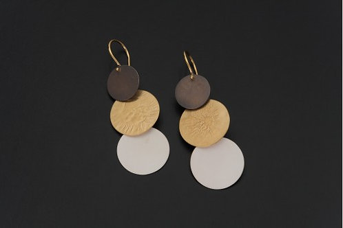 Deco Echo Anna Krol Discs Earrings