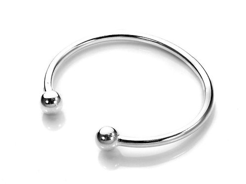 Baby or Childs Bangle - Sterling Silver