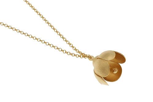 Deco Echo Single Flower Necklace