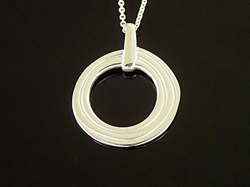 Ortak Achnabreck Circles Pendant -  Sterling silver