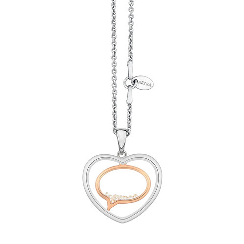 ASTRA SWEET WORDS NECKLACE MAYA COLLECTION LOVE THEME