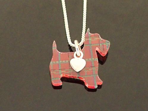 Marmoo Scottie Dog  Necklace- Amanda Cope