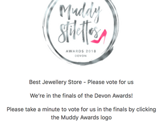 We're Finalists in the Best Jeweller Category!