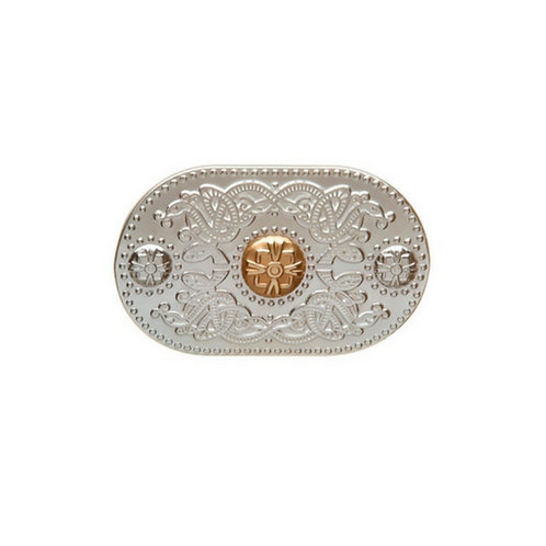 House of Lor Brooch - Silver & Irish Gold