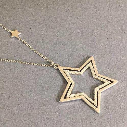 Estrella Duo Star Necklace