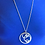 Thumbnail: Circles Necklace 28 In Chain - Sterling Silver