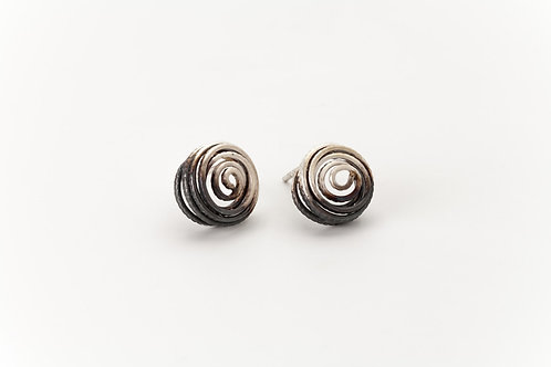 Deco Echo Anna Król Coil Earrings