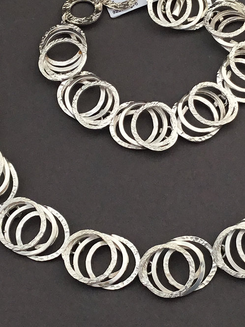 Chris Lewis Oxygen Necklace - Sterling Silver