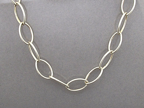 Large Link Sterling Silver Chain by Catherine Bishop