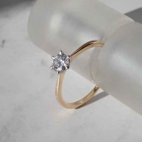 Solitaire Diamond Ring by Catherine Bishop