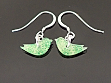marmoo bird sail earrings