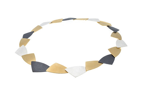 Deco Echo Triangle Necklace