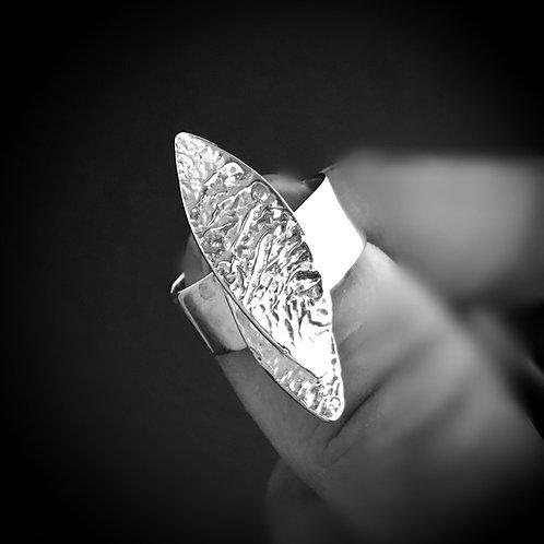 Chris Lewis Leaves Ring - Sterling Silver