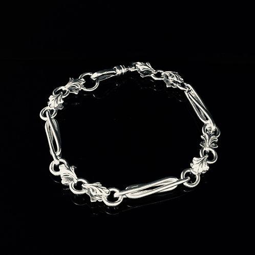 Fancy Chain Bracelet -Sterling Silver