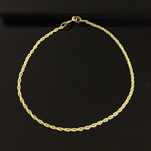 9ct Prince of Wales Chain Bracelet