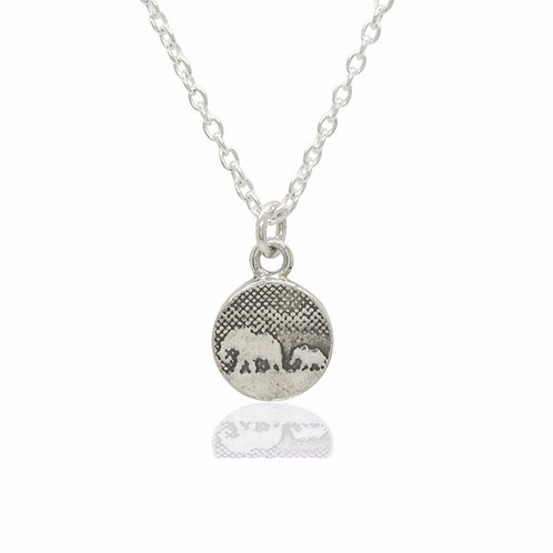 Charlotte Lowe  - Elephant Family Necklace - Small