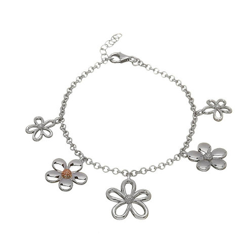 House of Lor Irish Gold Petal Bracelet