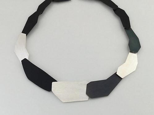 Deco Echo Anna Krol Necklace  - Oxidized  Silver