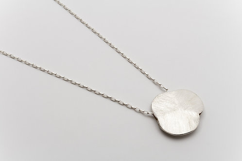 Deco Echo Anna Król Brushed Silver Necklace