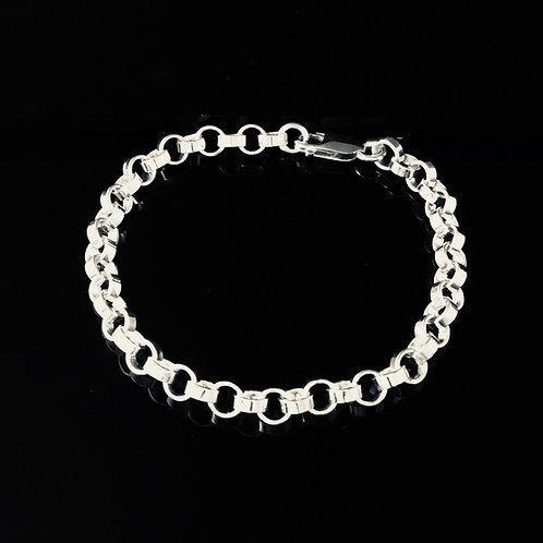 Rolo Chain Bracelet -Sterling Silver