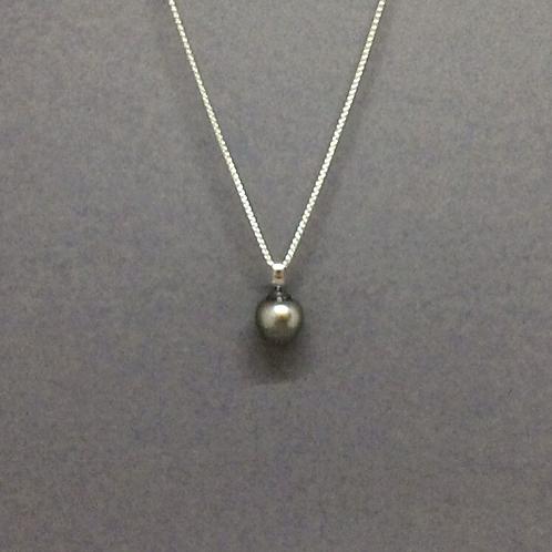 Minky Grey Tahitian Pearl Pendant