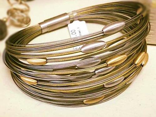 Glanzpunkt Oval Beads Bracelet