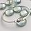 Thumbnail: Pear Shaped Amethyst Bracelet- Sterling Silver