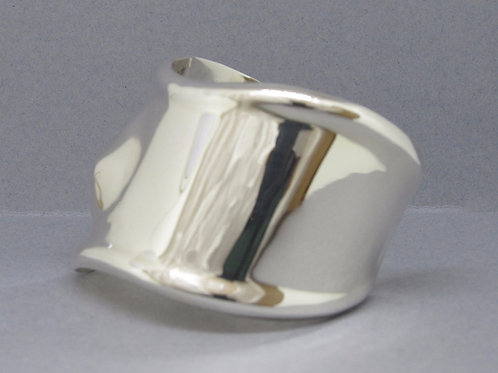 Heavy Solid Sterling Silver Cuff