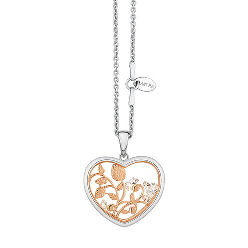 ASTRA NEW BEGINNING, MAYA COLLECTION, HOPE THEME, ROSE GOLD, NECKLACE, GIFT,