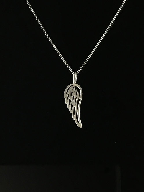 Open Wing Necklace - Sterling Silver