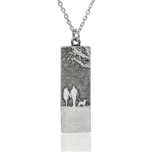 Charlotte Lowe  - Couple & Mans Best Friend Silver Dog Necklace