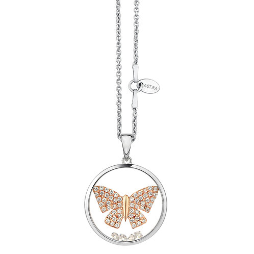 ASTRA TRANQUIL BUTTERFLY NECKLACE - MAYA COLLECTION PEACE THEME