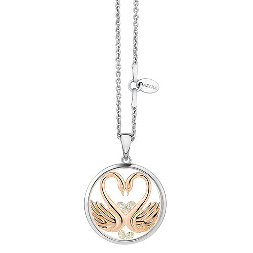 ASTRA MY SWEETHEART, MAYA COLLECTION, LOVE THEME, NECKLACE, VALENTINE, GIFT, ROSE GOLD
