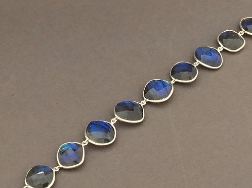 Labradorite Bracelet  - Sterling Silver
