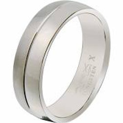 Gents Titanium Ring -Size T1/2