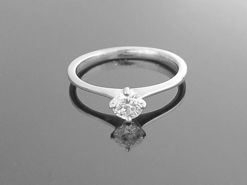 Single stone Diamond Ring - 0.42cts