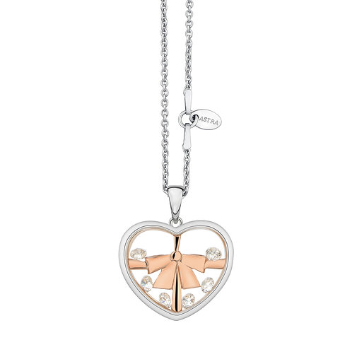 ASTRA GIFT OF LOVE ROSE GOLD NECKLACE MAYA MOTHERS DAY, KIDS, GIRLS, CHILDREN, VALENTINE, CHRISTMAS, GIFT PRESENT