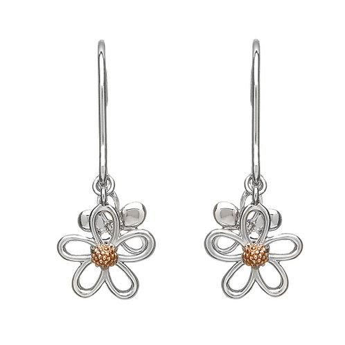 House of Lor Irish Gold Petal Earrings