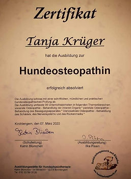 Hundeosteopathie