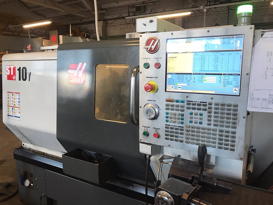 HAAS metal milling machine