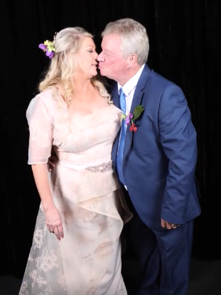 Kenny and Caroline