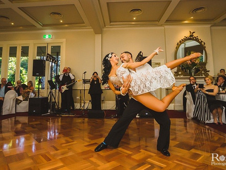 Knock your guests' socks off with a killer first dance