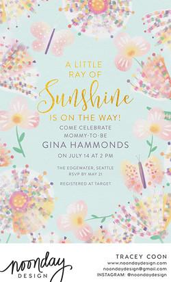 Sweet Pastels Invitation