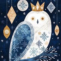 Snowy-Owl-Christmas-Winter-Illustration-