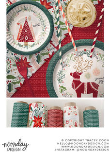 Hygge Christmas Surface Pattern Collection