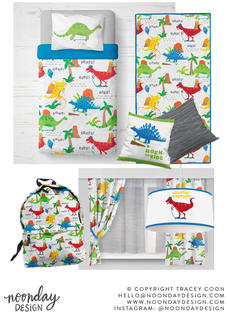 Dinosaurs on the Go Surface Pattern Collection