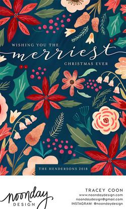 Merriest Christmas Ever Card